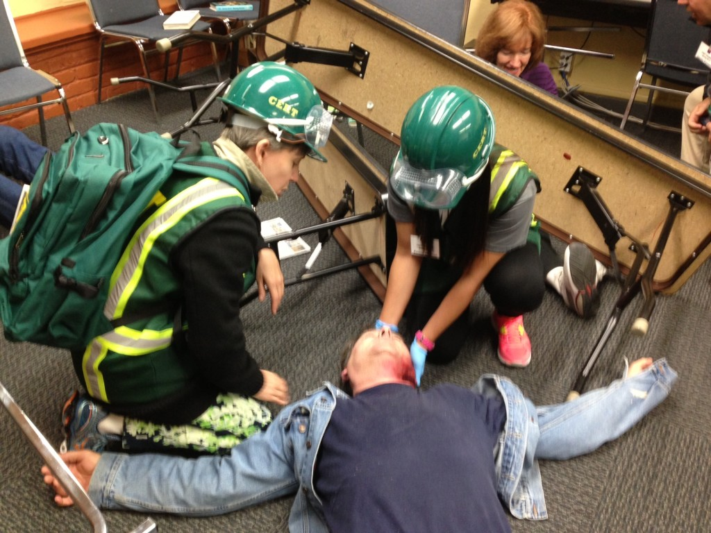 Cert Training Central County Fire Department